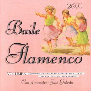solo compás - baile flamenco. vol. 3 (2 cds)
