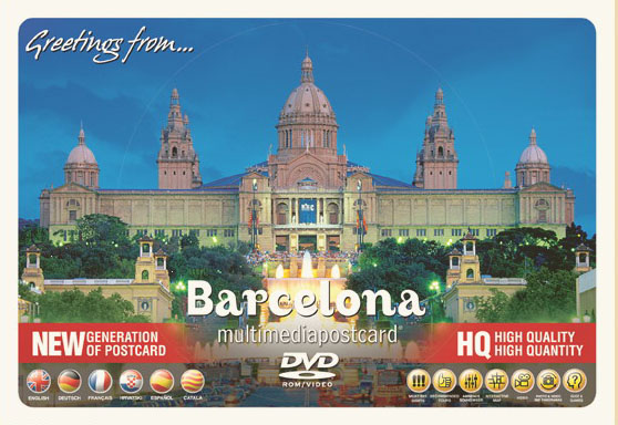 Barcelona.Multimedia Postcard. Dvd
