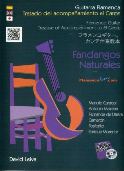 Treatise of Accompaniment to El Cante. Fandangos Naturales by David Leiva.