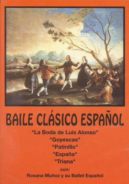 Spanish classical dance - DVD