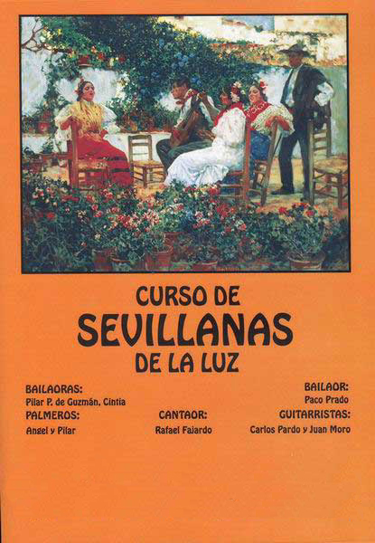 Sevillanas course - Dvd