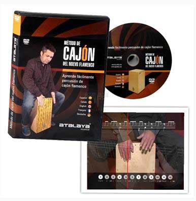 Método de cajón del nuevo flamenco (Flamenco box-drum method for new flamenco) - Dvd - Pal