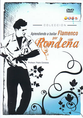 Learning to dance flamenco for Rondeña - DVD