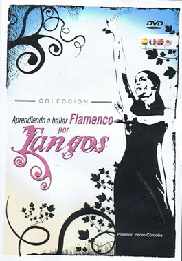 Learning to dance flamenco for Tangos - DVD
