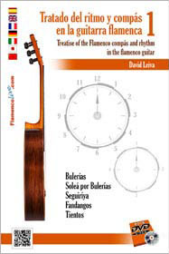 Treatise of the flamenco compás in the Flamenco Guitar Vol. 1. David Leiva DVD