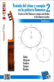 Treatise of the flamenco compás in the Flamenco Guitar Vol. 2. David Leiva DVD