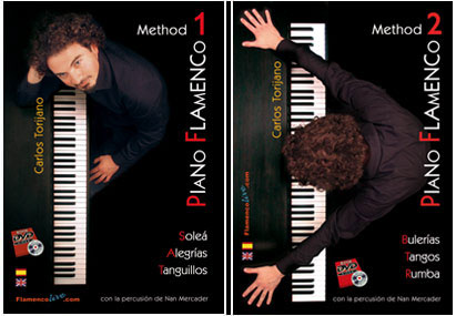 Flamenco Piano method by Carlos Torijano (Pack Volume 1 and 2)