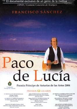 DVD Paco de Lucia. El documental de su vida y obra (PAL)