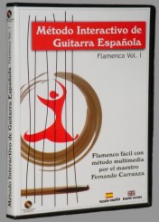 Méthode interactive de guitare flamenca - Cd-Rom