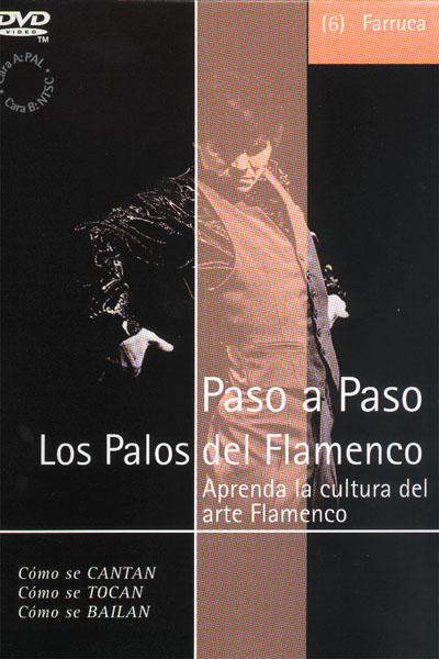 Flamenco Step by Step. Farruca (06) - Dvd - Pal
