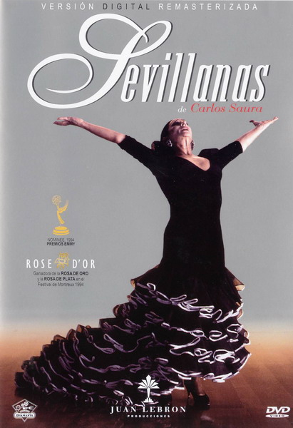 Sevillanas by Carlos Saura - DVD Pal