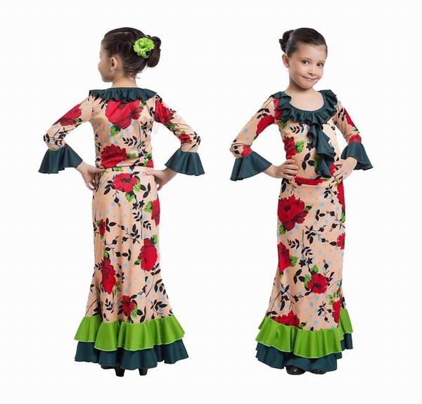Happy Dance Flamenco Skirts for Girls. Ref.EF251PE24PS44PS38