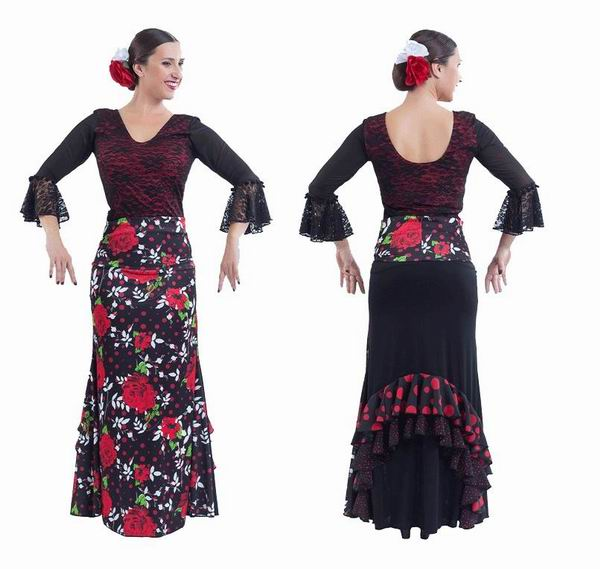 Faldas para Baile Flamenco Happy Dance. Ref. EF308PE30PS13PS82PS83