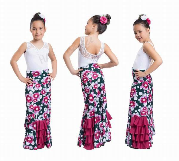 Happy Dance Flamenco Skirts for Girls. Ref.EF215PE27PS02HL02