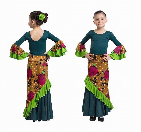 Happy Dance Flamenco Skirts for Girls. Ref.EF130PE23PS44PS38