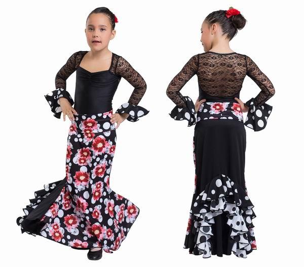 bd962ac6d59 Jupes pour la Danse Flamenco Happy Dance pour Enfant.  Ref.EF308PE30PS13PS82PS83