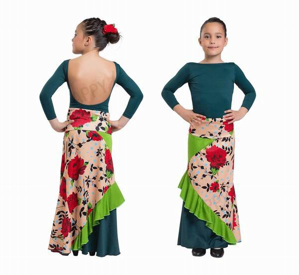 Happy Dance Flamenco Skirts for Girls. Ref.EF285PE24PS44PS44PS38