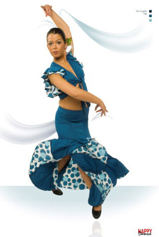 Skirt For Flamenco Dance by Happy Dance Ref.135PS27PS142