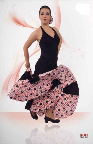 Skirt for flamenco dance Happy Dance Ref.145PS13PS126