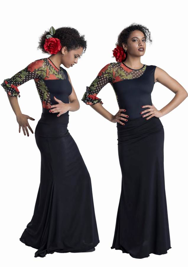 Happy Dance. Flamenco Skirts for Rehearsal and Stage. Ref. EF330PF13