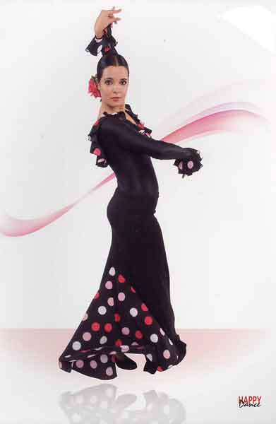 Flamenco Dance Skirt by Happy Dance Ref.E3953PS13PS140