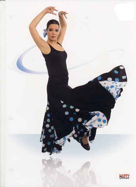 Skirts for flamenco dance Happy Dance Ref.EF006PS13PS141PS91