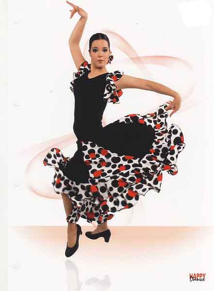 Skirts for flamenco dance Happy Dance Ref.EF065PS13PS128