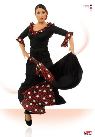 Falda para Baile Flamenco Happy Dance Ref. EF007PS13PS124