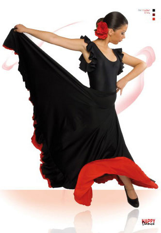 Faldas para Baile Flamenco Happy Dance Ref.EF014PS13PS10