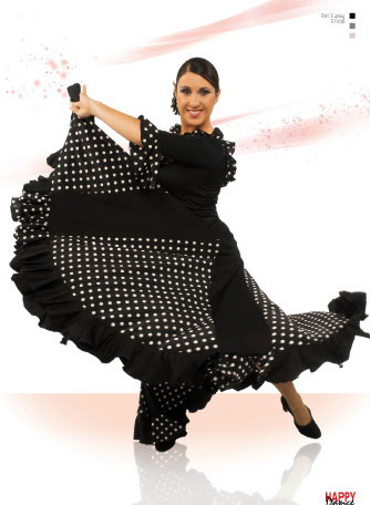 Faldas para Baile Flamenco Happy Dance Ref.EF38PS13PS60