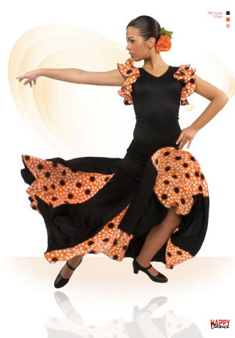 Skirt For Flamenco Dance by Happy Dance Ref.EF052PS13PS160