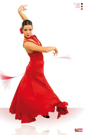 Falda para Baile Flamenco Happy Dance Ref. EF065PS10