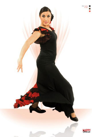 Faldas Happy Dance para Baile Flamenco. Ref.EF071PS13PS177PS176