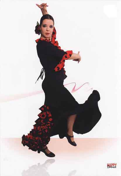 Skirts for flamenco dance Happy Dance Ref.EF072EF072PS13PS80PS81