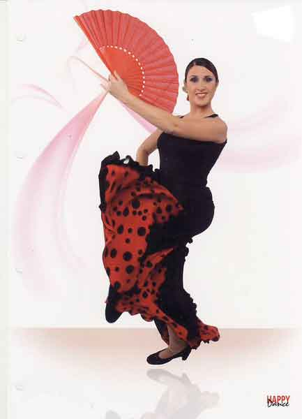 Faldas para Baile Flamenco Happy Dance Ref.EF077PS13PS81