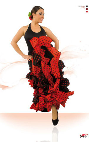 Jupes pour la danse Flamenco Happy Dance Ref.EF085PS13PS70PS63