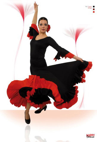 Faldas para Baile Flamenco Happy Dance Ref.EF092PS13PS13PS10