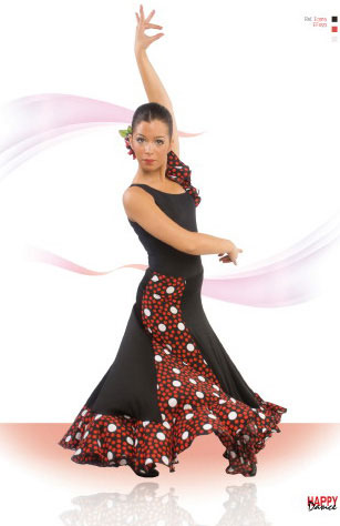 Faldas Happy Dance para Baile Flamenco. Ref.EF093PS13PS124