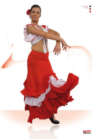 Faldas para Baile Flamenco Happy Dance Ref.EF102PS10PS11