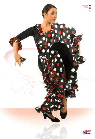 Faldas para Baile Flamenco Happy Dance Ref.EF102PS13PS127PS124