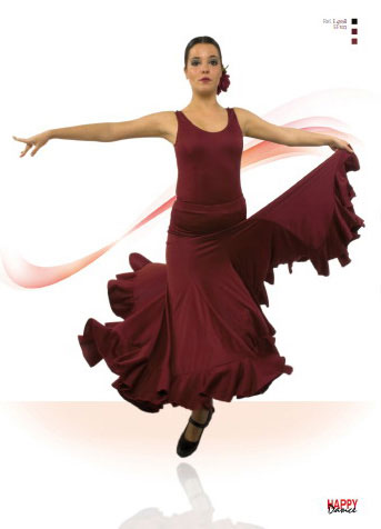 Faldas para Baile Flamenco Happy Dance Ref.EF103PS42