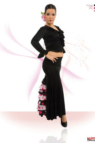 Faldas para Baile Flamenco Happy Dance Ref.EF122PS13PS140PS89