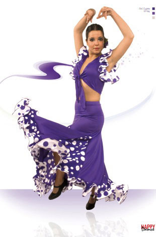 Faldas para Baile Flamenco Happy Dance Ref.EF124PS4PS170PS171