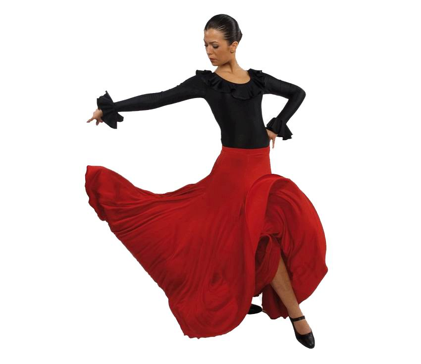 Skirts for Flamenco Happy Dance for Girls. Ref.EF105