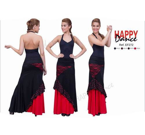 Jupes Happy Dance pour la danse Flamenco. Ref.EF272PS13PS10PS70BLB13
