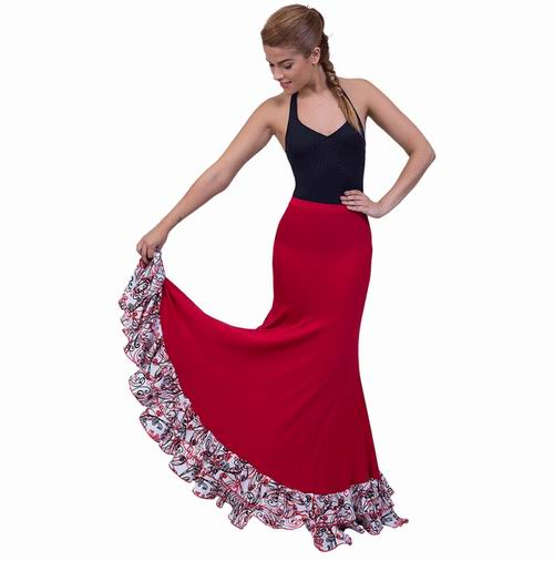 Faldas para Baile Flamenco Happy Dance Ref.EF251PS10PS197PS197