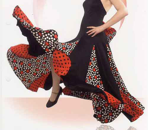 Happy Dance Flamenco skirts