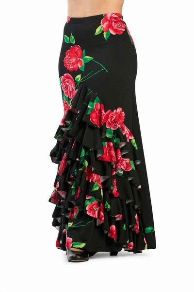 45f5318f1 Falda Flamenca Modelo Fandanguillo. Ref. 3791 - FlamencoExport