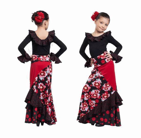 Tenue flamenca pour fillettes par Happy Dance