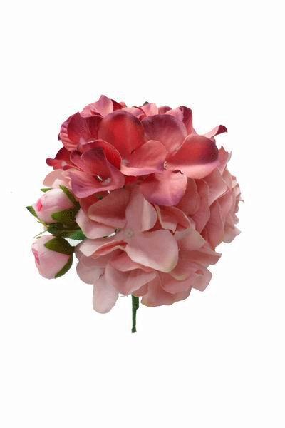 Ramos de flores flamencas grandes en tonos rosas - Ramos de flores grandes ...
